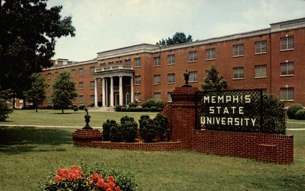West Hall, Memphis State University Tennessee