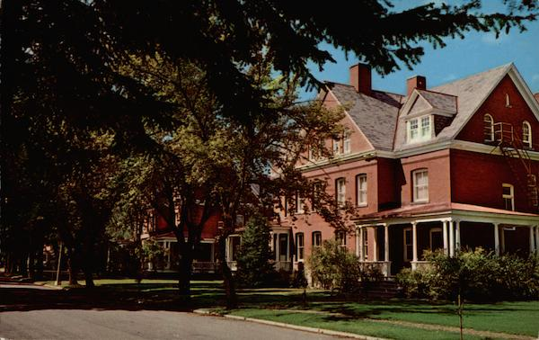 Bourget and Davignon Halls, Fort Wright College Spokane Washington