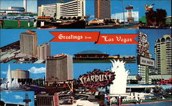 The Strip Hotels Postcard