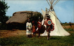 Indians at Pipestone National Monument