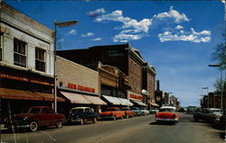 Tenth Street looking East Postcard