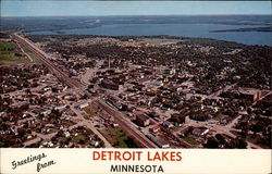 Greetings from Detroit Lakes, Minnesota