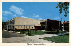 Olmsted County Courthouse Postcard