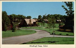 Woodcraft Camp Postcard