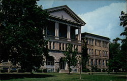 Ball State College Administration Building (Dedicated 1918)