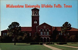 Midwestern University, Administration Building Postcard