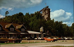 Castle Rock, 3 Miles North of St. Ignace, Michigan