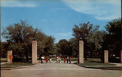 Entrance to Moorhead State Teachers College