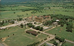 Aerial View of New Subiaco Abbey & Academy