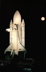 Space Shuttle Enterprise on Launch Pad