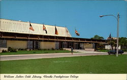 William Luther Cobb Library, Florida Presbyterian College Postcard