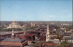 Providence, Rhode Island, a panoramic view