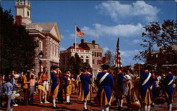 Liberty Square Fife and Drum Corps, Walt Disney World Postcard