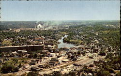 Westbrook, Maine, from the air Postcard