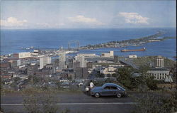 A view of Downtown Duluth