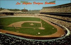 Dodgers Stadium Postcard