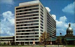 Indiana State Office Building Postcard