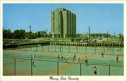New Tennis Courts, Murray State University Postcard