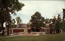 The new Science Center at Georgetown College Postcard