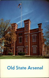 Old State Arsenal Postcard