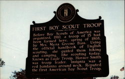 First Boy Scout Troop Historical Marker