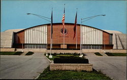 Alumni Coliseum, Eastern Kentucky University Postcard