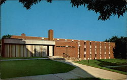 Grand Island Memorial Hall - Sioux Falls College Postcard