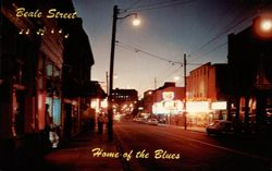 Beale Street - Home of the Blues