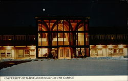 University of Maine - Moonlight on the Campus