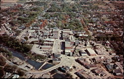 Air view of Houlton, Maine