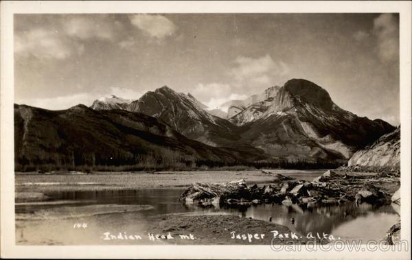 Indian Head Mountain Jasper Park Alaska