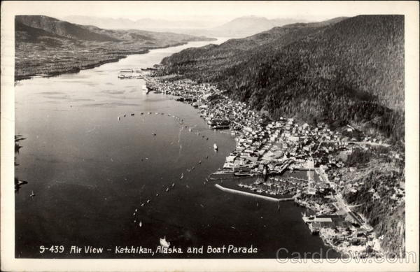 Airview, Boat Parade ketchikan Alaska