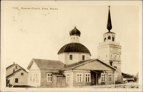 Russian Church Sitka Alaska