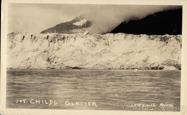 Child's Glacier Cordova Alaska Lew Smith