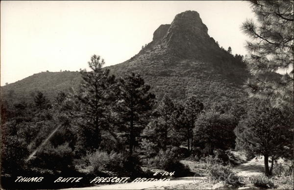 Thumb Butte Prescott Arizona