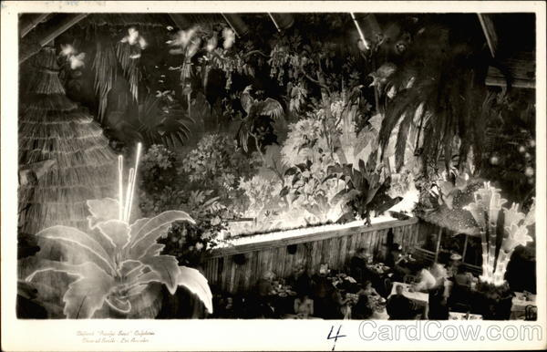 Clifton's Pacific Seas Cafeteria  Los Angeles California