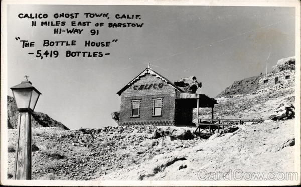 The Bottle House Calico Ghost Town California