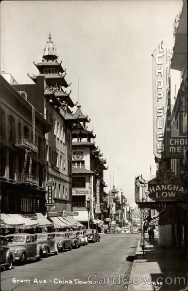 Grant Avenue - Chinatown San Francisco California