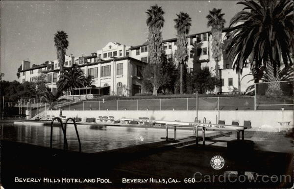 Beverly Hills Hotel and Pool California