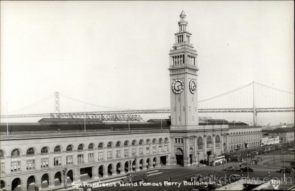 World Famous Ferry Building San Francisco California