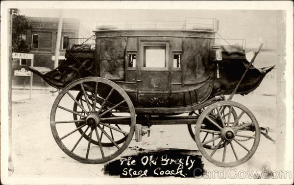 The Old Greely stagecoach