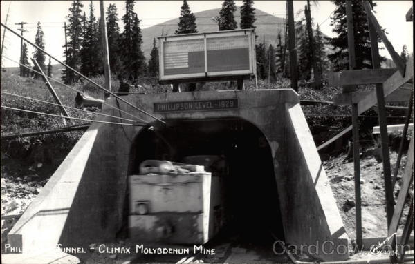 Phillipson Tunnel - Climax Molybdenum Mine Colorado