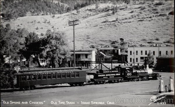 Old Smoke and Cinders - Old Time Train Idaho Springs Colorado