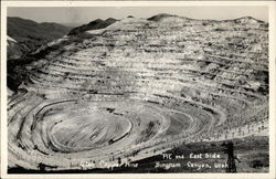 Utah Copper Mine Pit and East Side