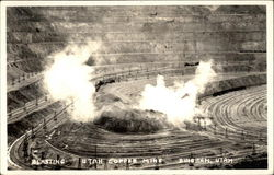 Blasting - Copper Mine