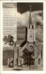 Comstocker's Church - St. Mary's in the Mountains Postcard