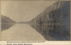 McDonald Lake looking westward, Indian Reservation