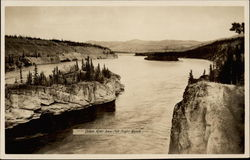 Yukon River below Five Finger Rapids Postcard
