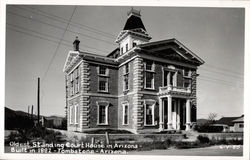 Oldest Standing Courthouse in Arizona, built in 1882