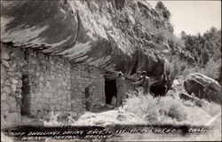 Cliff Dwellings dating back to 888-911 and 1103 A.D